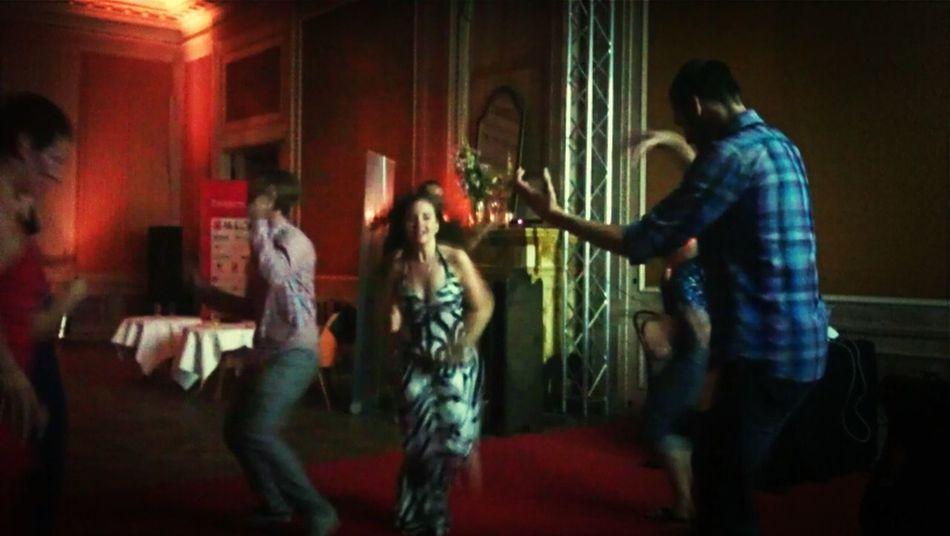 People Dancing A Crazy