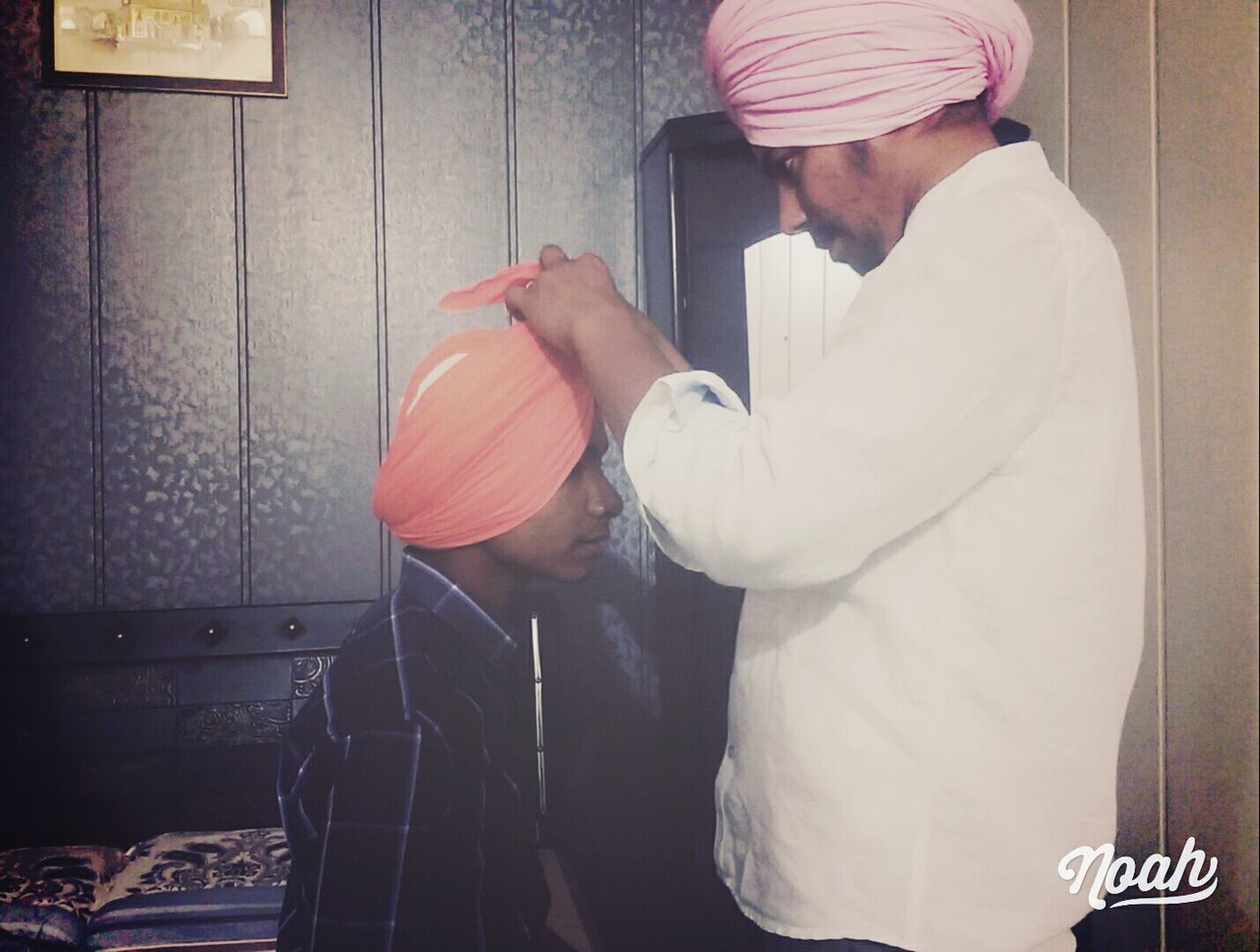 Turbun People are may be weird for you but they are warrior and Warrior dont care about what others thinks about their weirdness because that weirdness makes us different Sikh Turbun Weirdness Warrior Godsarmy