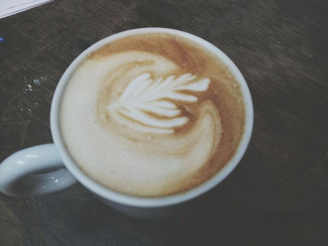 Relaxing Taking Photo Make Coffee Love Simple Life