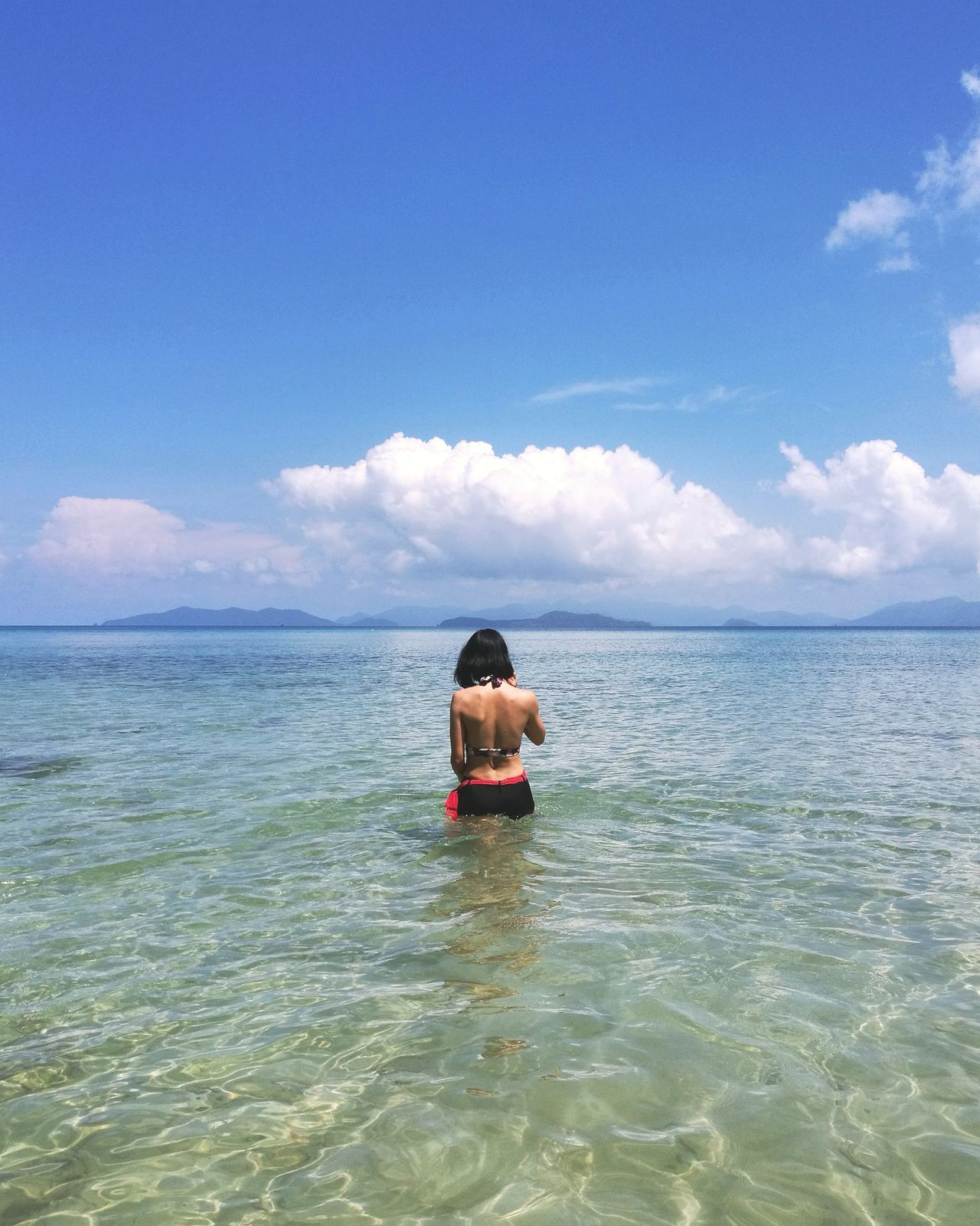 Sea Sky Water One Person Horizon Over Water Leisure Activity Day Only Men Cloud - Sky Scuba Diving One Man Only Nature Beach Scenics Outdoors Adults Only Vacations People Men Beauty In Nature Beachbum Long Goodbye