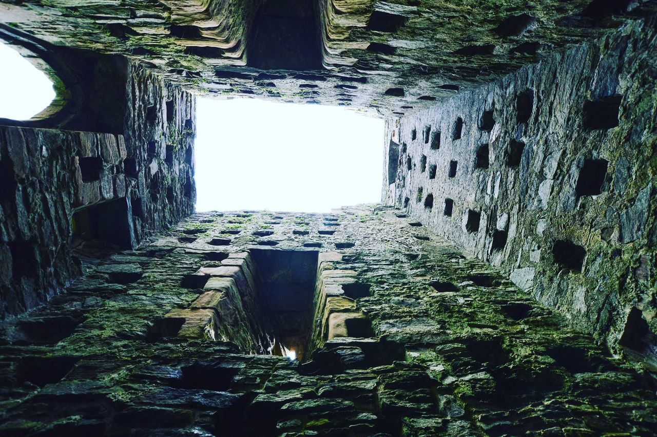 Architecture Directly Below Latrine Tower Skipness Castle Scottish West Coast Scotland Staycation