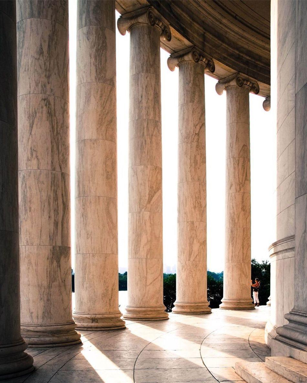 History Jefferson Memorial Architecture Washington, D. C. Colonnade