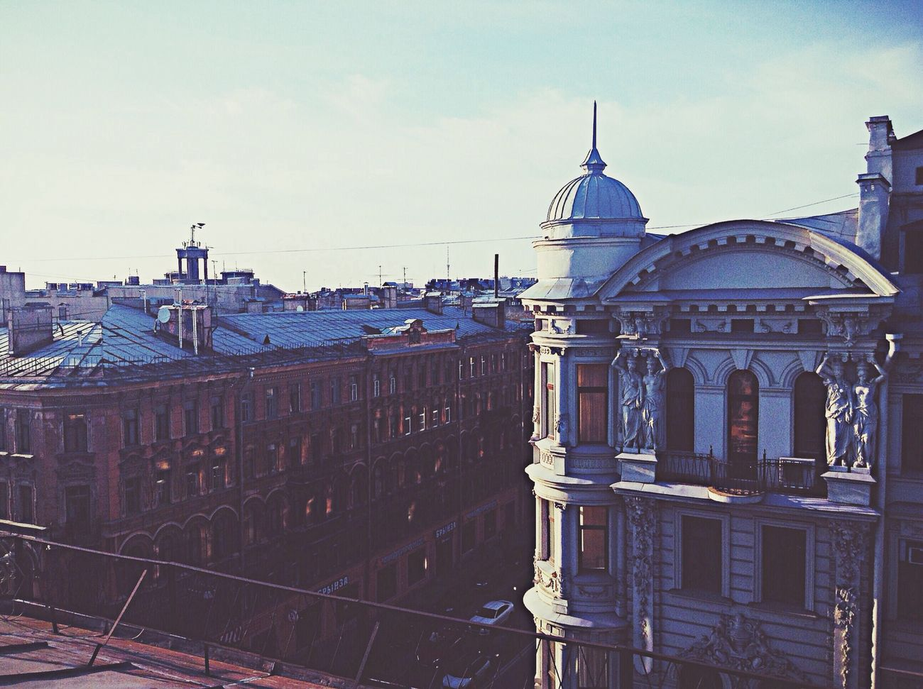 Некрасова и Восстания Roof Saint Petersburg Urban View