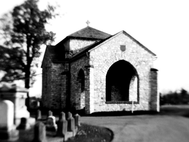 Cemetery Monochrome Blackandwhite PENTAXQ10