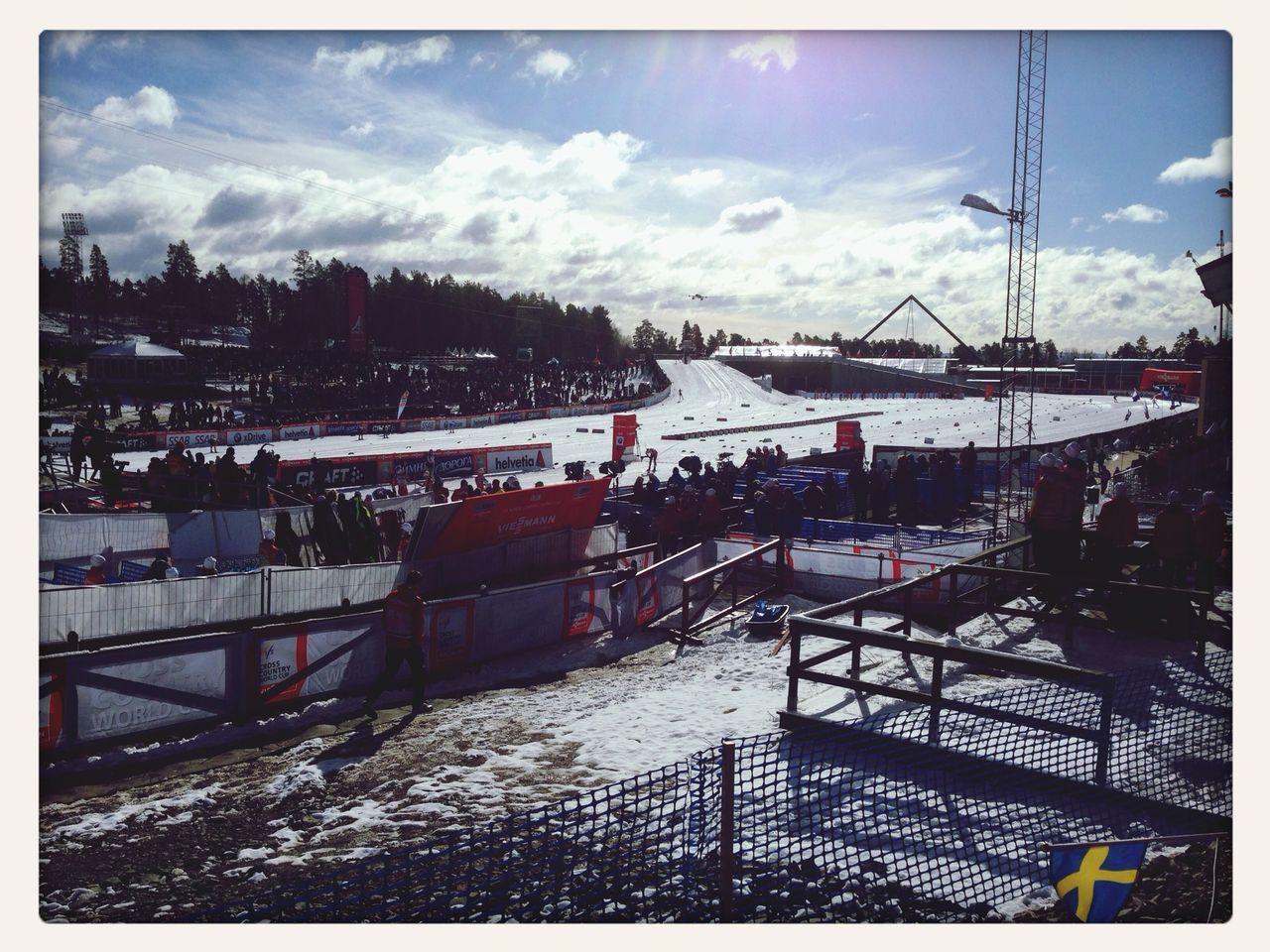 Vm2015 Falun 2015 Riksskidstadion Skidor