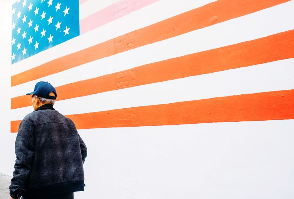 Beautiful stock photos of amerika, American Flag, Day, Flag, Identity