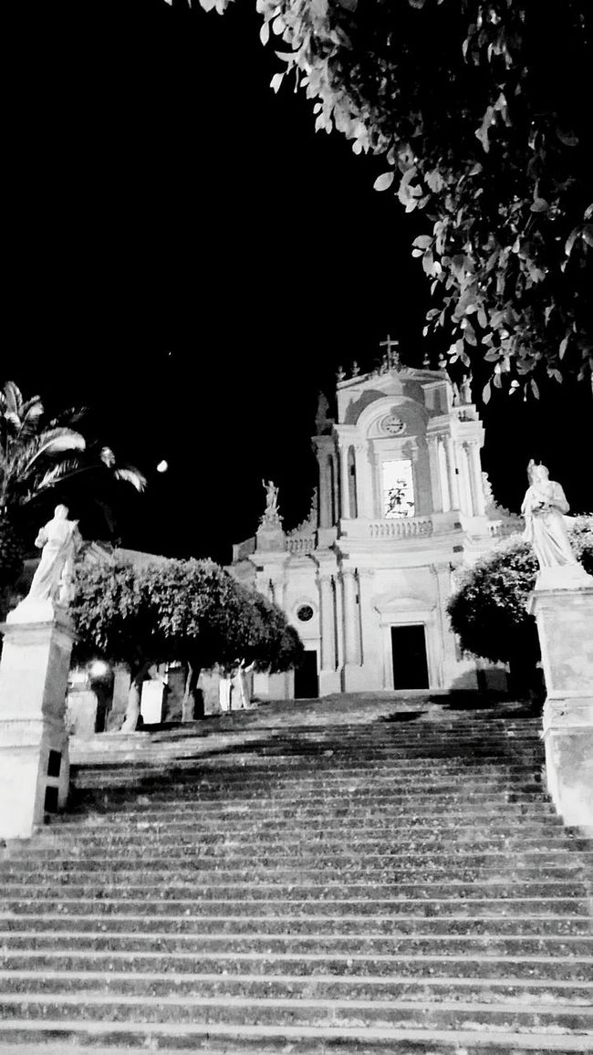 Sicily Blackandwhite Baroque Modica the city of the 100 churchs San Giovanni My Country In A Photo Church the first mafia!!! just power and gold.