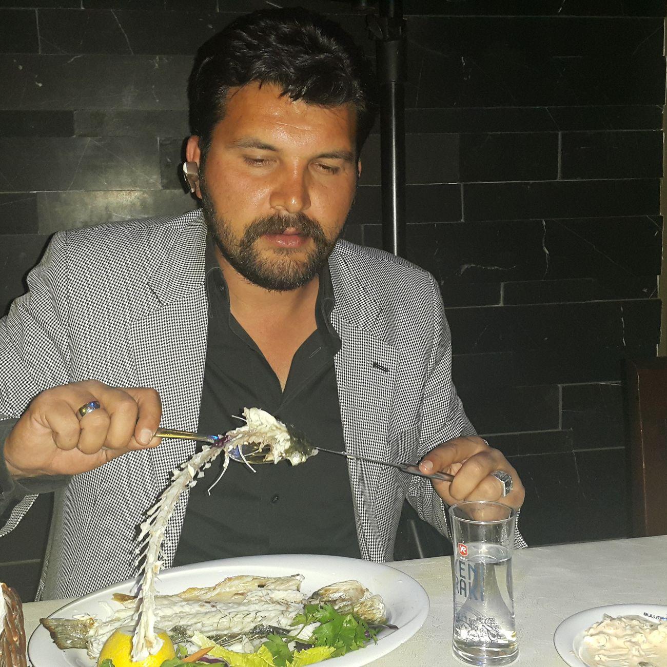 Have dinner. ...fish☺☺☺ Enjoying Life