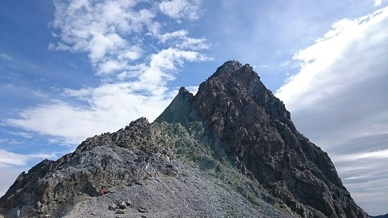 槍様なう(`・∀・´) Mountains Landscape Nature Japan Alps Japan EyeEm Nature Lover 槍ヶ岳 Photography Clouds And Sky