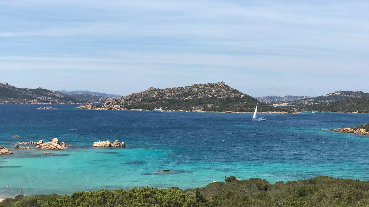 Eyeemselects Summer Sky Sea Summertime Day Nature Boat Sea And Sky Sea Sardegna Sardegnamare Caprera