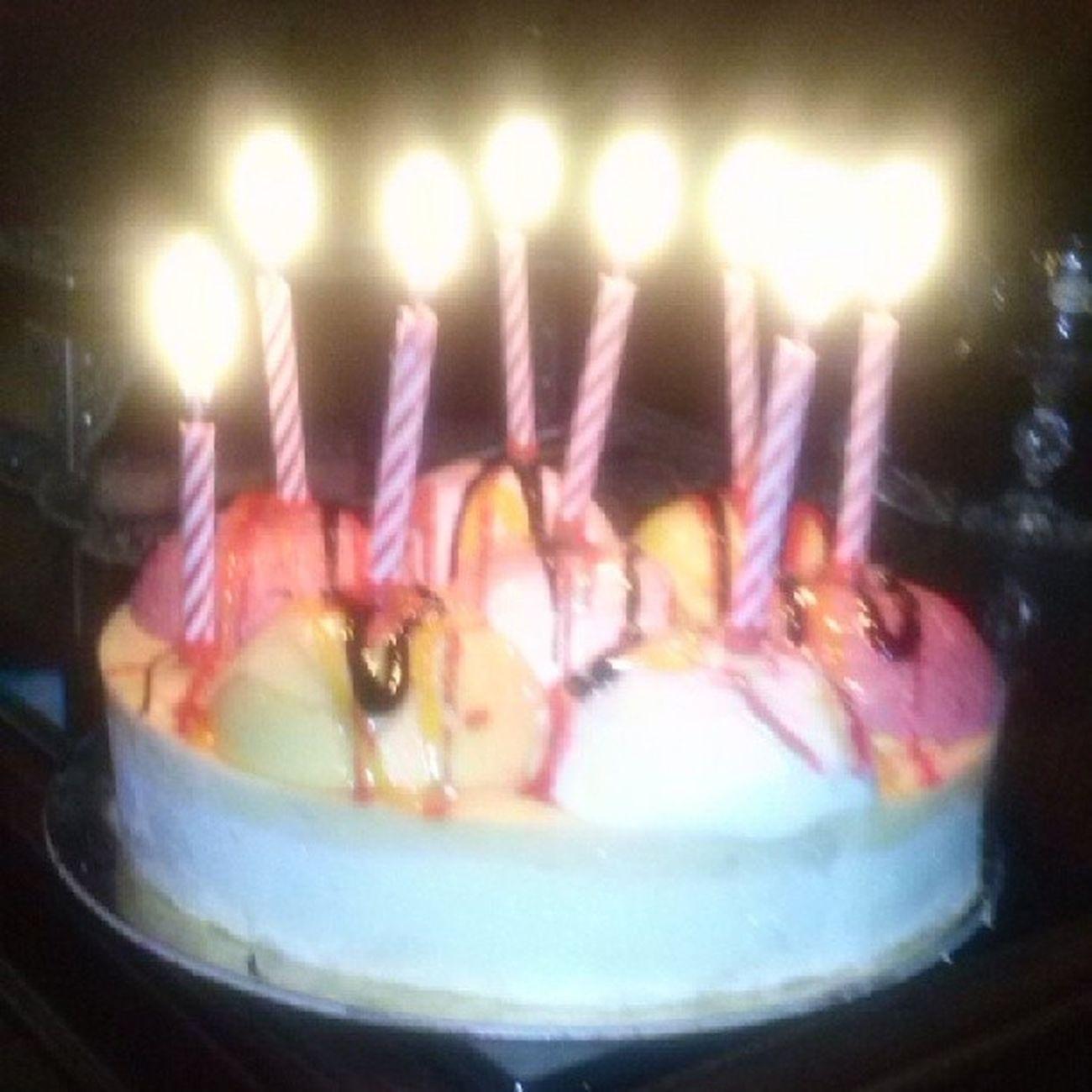 Kona bnhtfel Hahhaha Icecream cake Yumy