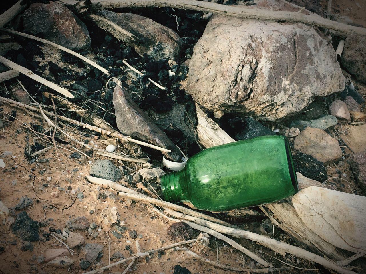 Message In A Bottle Green Color Green Bottle Lost Weekend Lost Bottle