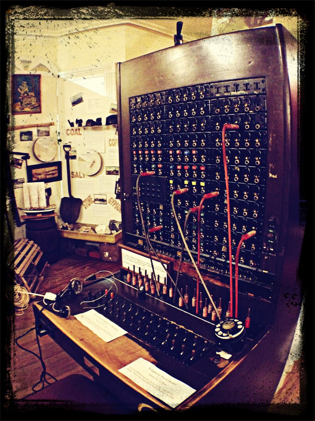 Old switchboard...