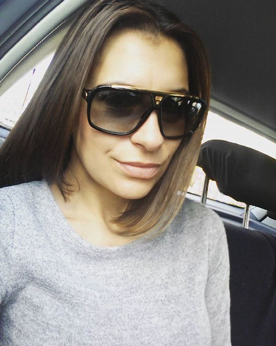 👗👠💄 Instagram Going To  Work Working Mood Out Fit Of The Day LV Dress Grey Nice Day Folks Instagood Makeup Nomakeup доброеутро всем