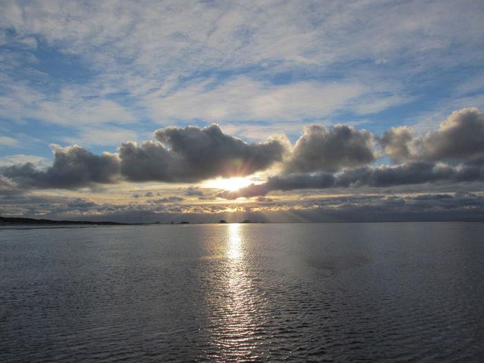 St. Peter-Ording Sunset Meer Himmel