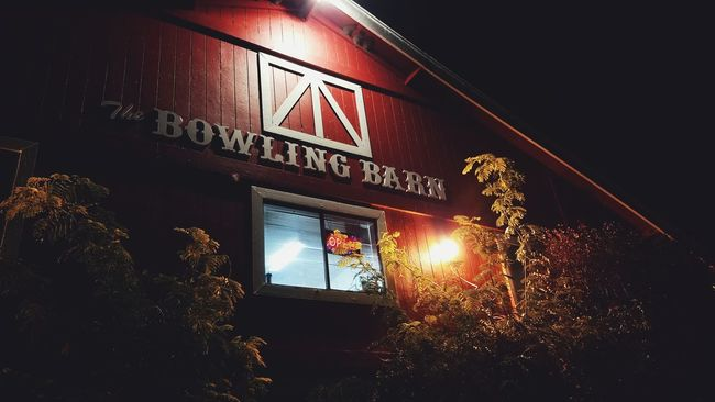 Bowling Architecture Bowling Barn Bowling Alley Big Bear Night Photography Chilling Out Barn