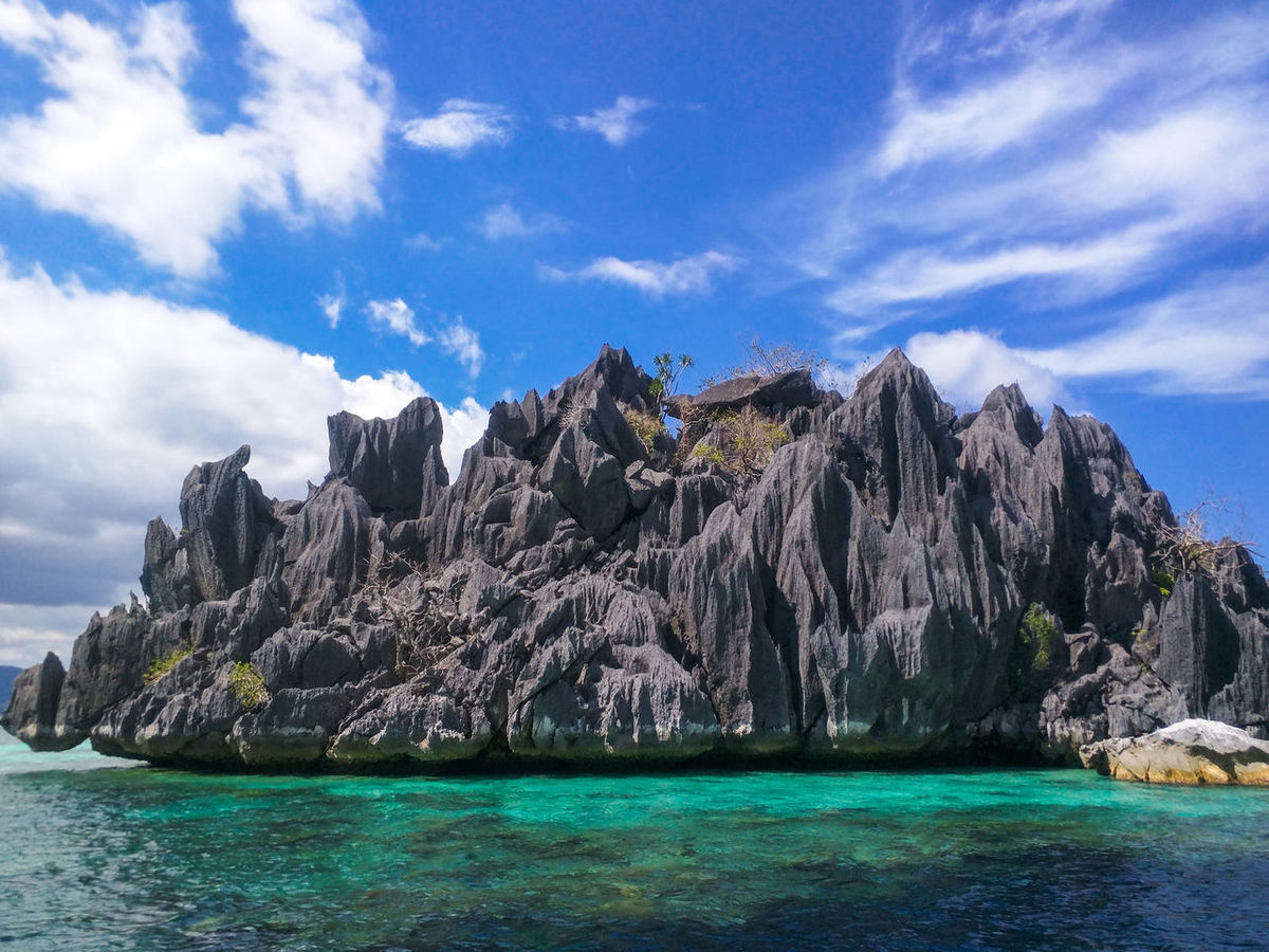 Beautiful Beauty In Nature Blue Clouds And Sky Day Islands Landscape Live For The Story Mountain Nature Nature Nature Photography Nature_collection No People Outdoors Palawan Philippines Scenics Sea Sky Sky And Clouds Summer Turquoise Vacation Water
