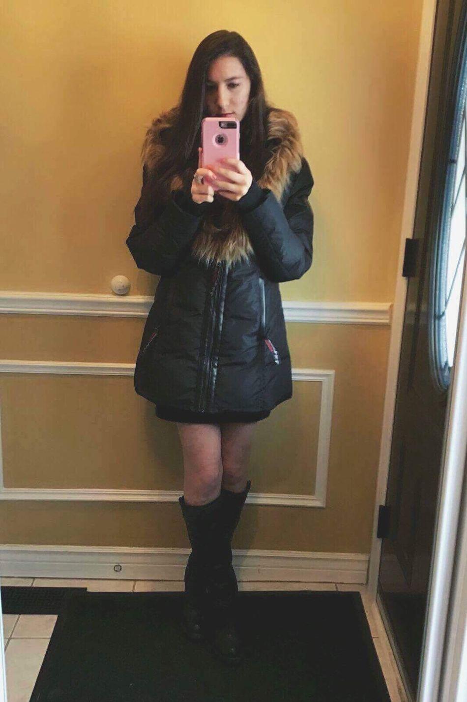 Pretty #love #followMe #smile #ShineBright Indoors  Self Portrait Selfie ♥ Babyshower <3 Canadian Girl Girl FashionWarm Clothing Modern Internet Day Ontario 2017 IPhone Iphone7plusphoto