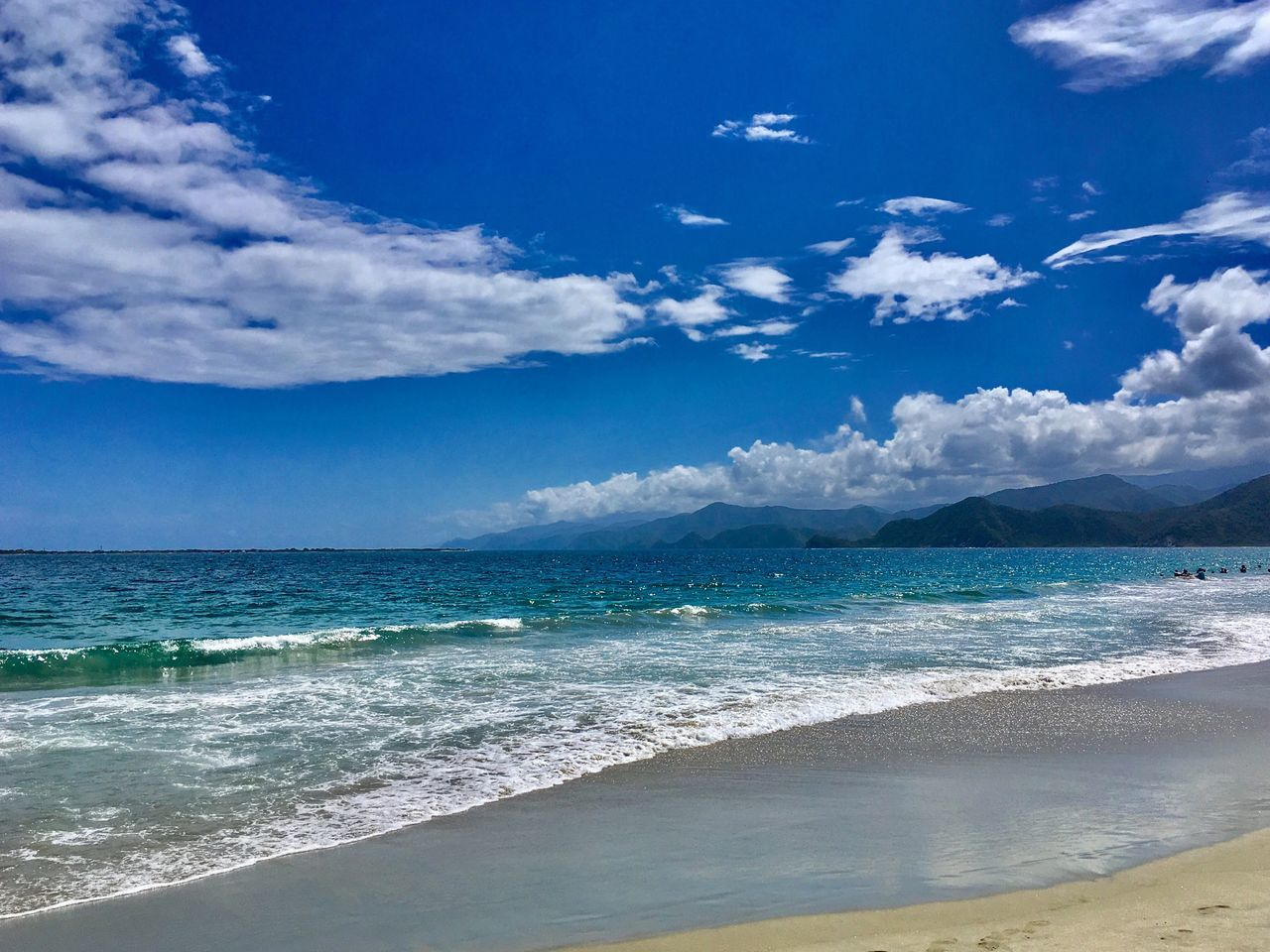 What a Paradise... Sea Sky Beach Scenics Water Blue Beauty In Nature Cloud - Sky Horizon Over Water Nature Tranquility Day Sand Outdoors Wave Clouds Wind Cloud Nature Island Life Lifestyles Paradise Paradise Beach Venezuela