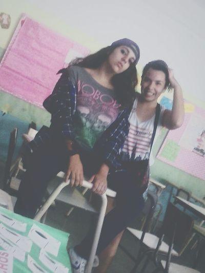 Me Ornella Colegio School Swag Camisa LabiosDePuta Selfie Friends Con la ornee