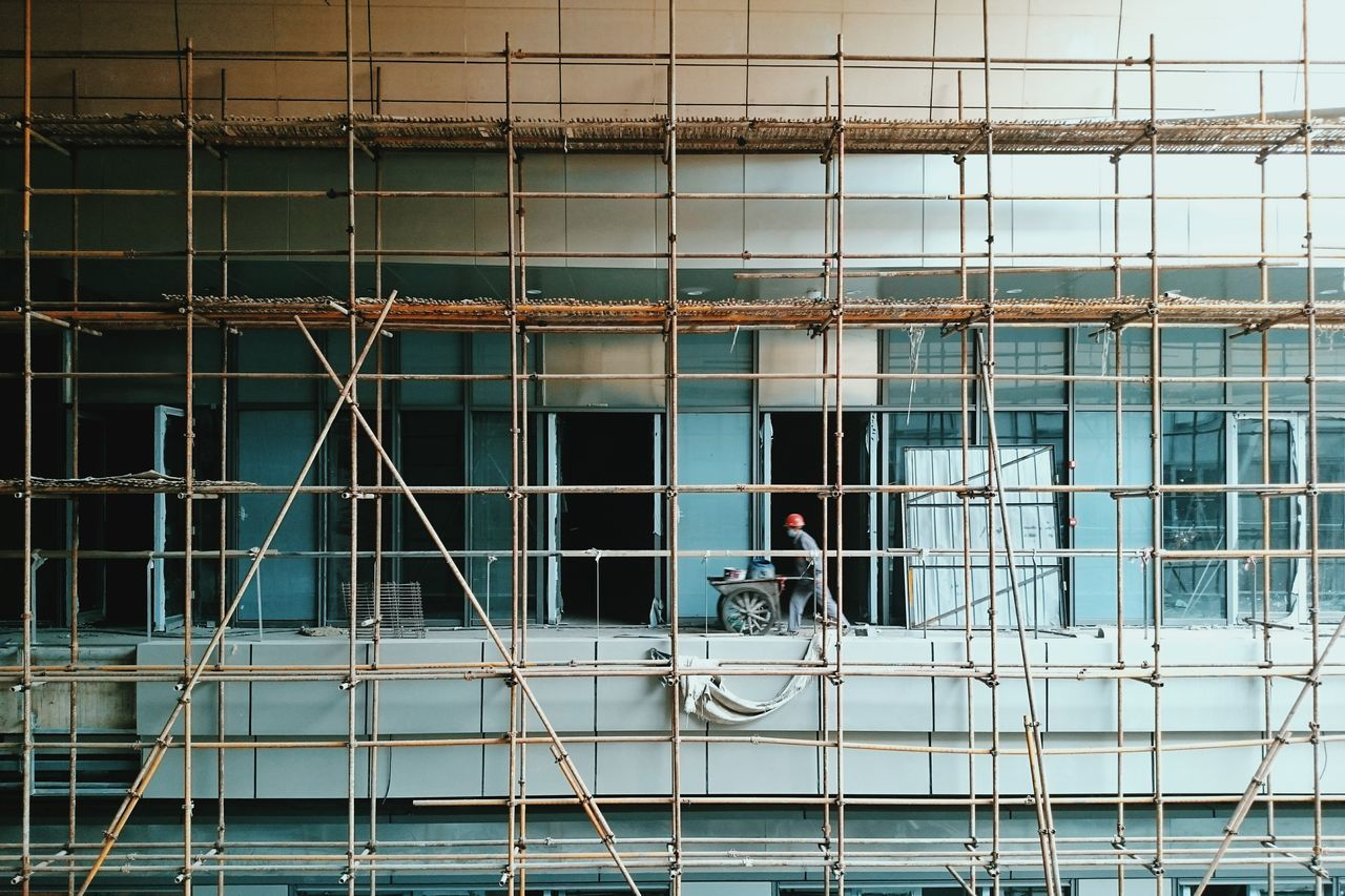 Architecture Built Structure Outdoors Construction Site Construction Worker The Street Photographer - 2017 EyeEm Awards Staging