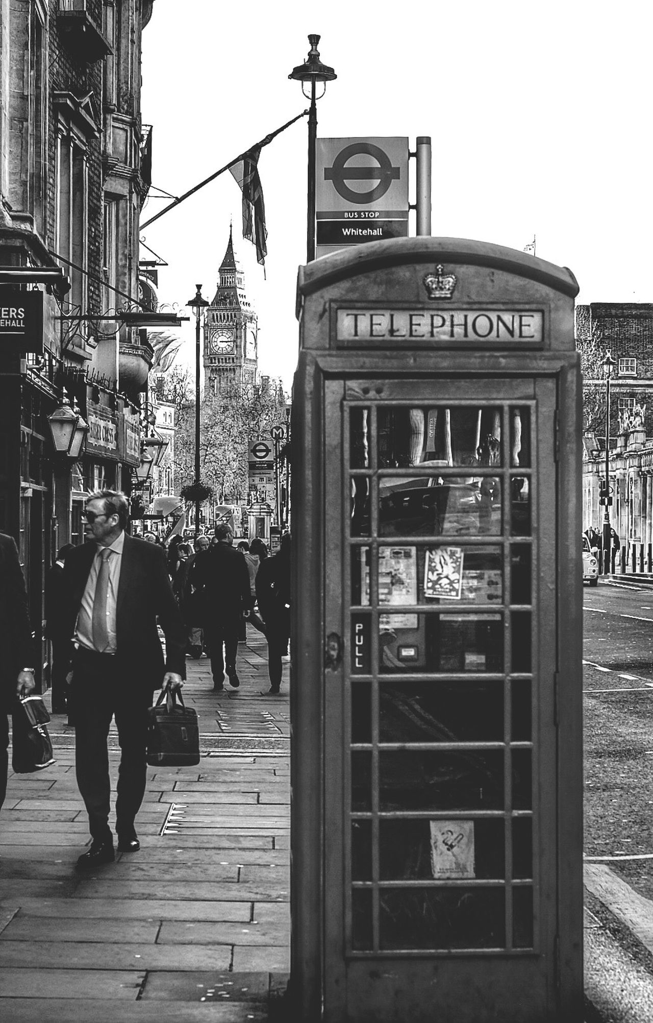 London London LONDON❤ Built Structure Architecture City Street Building Exterior Outdoors Day Week On Eyeem Full Length Sky People Adult Phone Booth