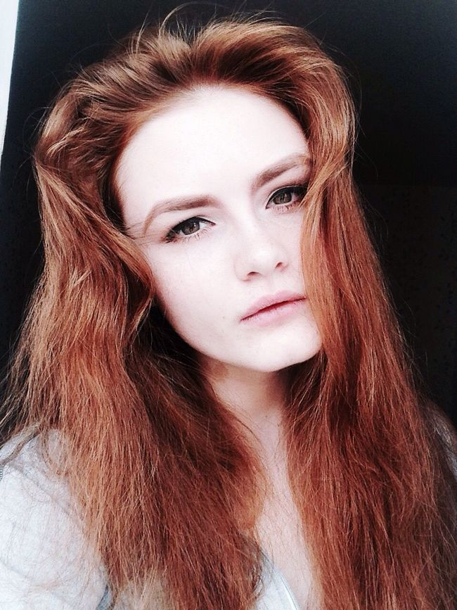 Taking Photos Redhead Red Ginger Selfie Selfportrait Green Eyes That's Me Self Portrait White Skin