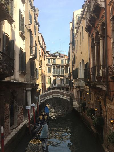 Venice, Italy City River Water Bridge