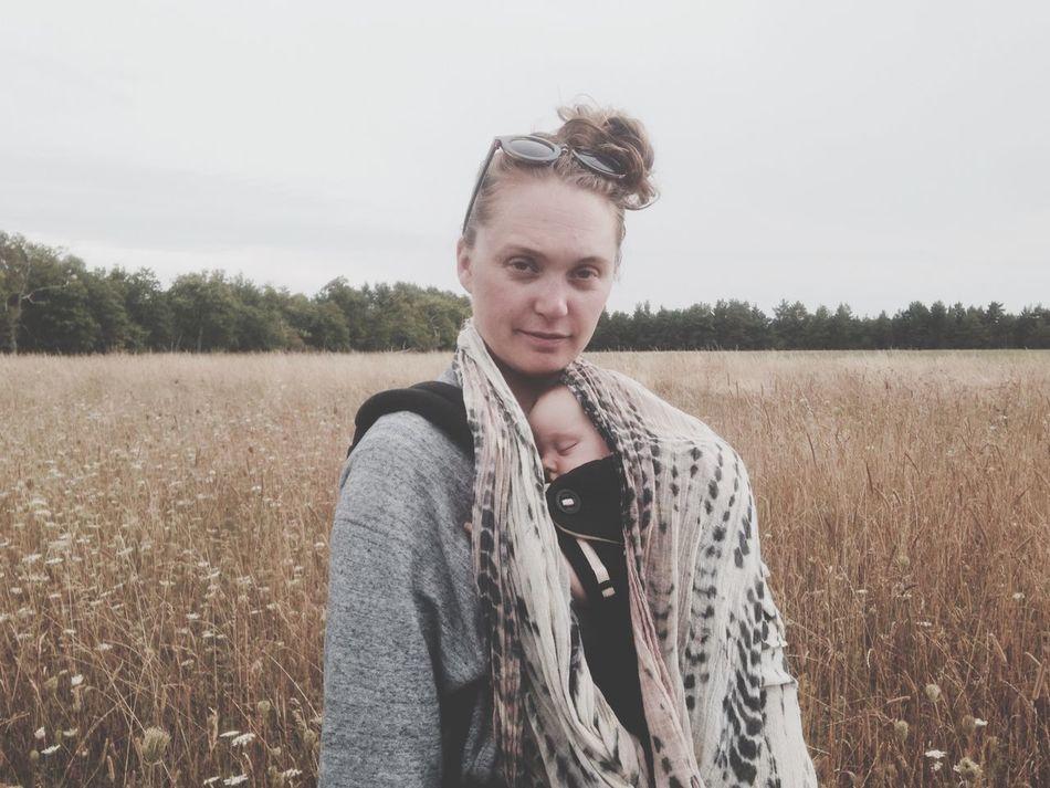 Field Woman Baby