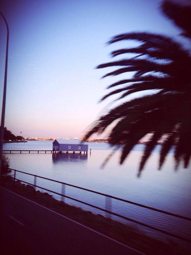 Blue house, Perth