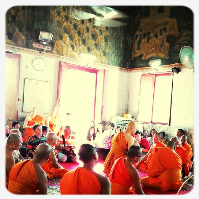 To become a buddhist monk.