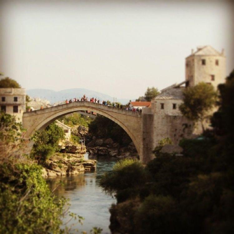 Incredible Mostar Bosnia Balkans Bridge