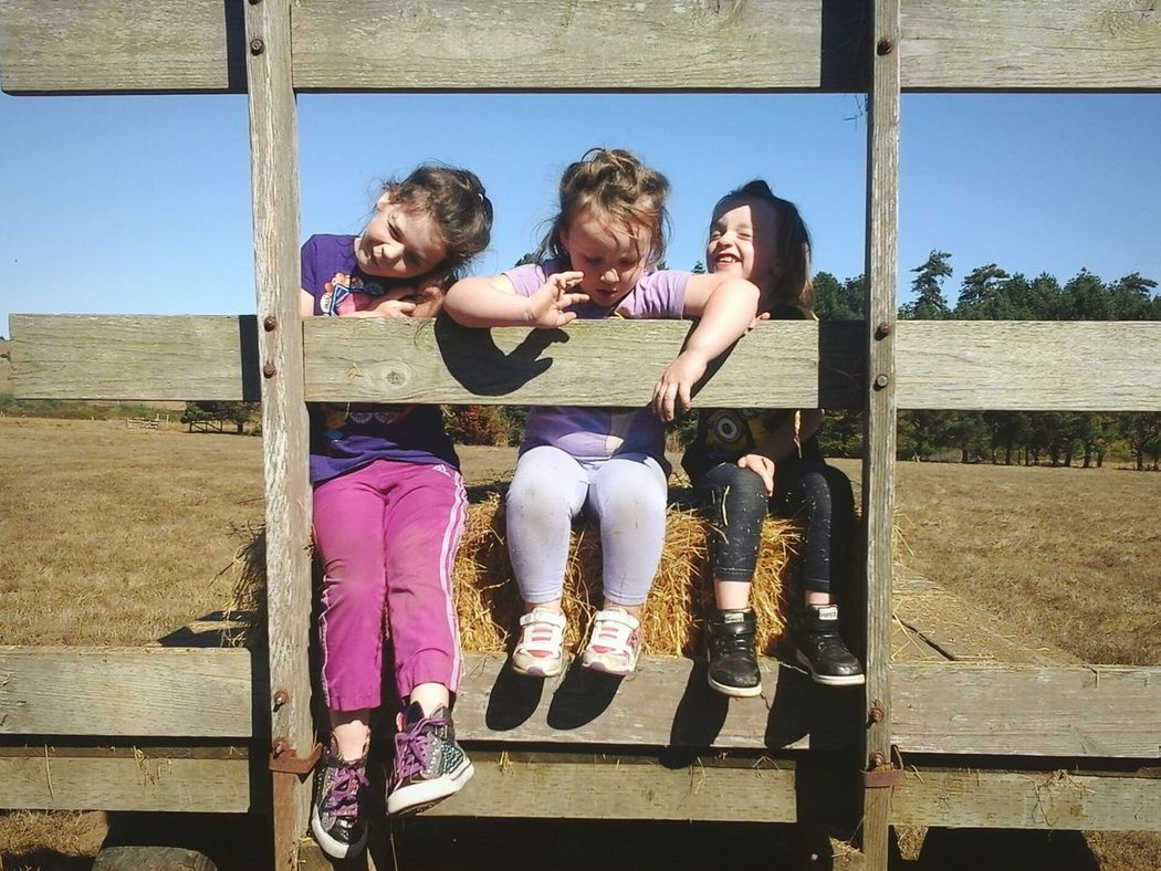 Taking Photos Cheese! Ranch Life The Great Outdoors Friendsfamily Enjoying Life Just Messing Around ~Silly girls~