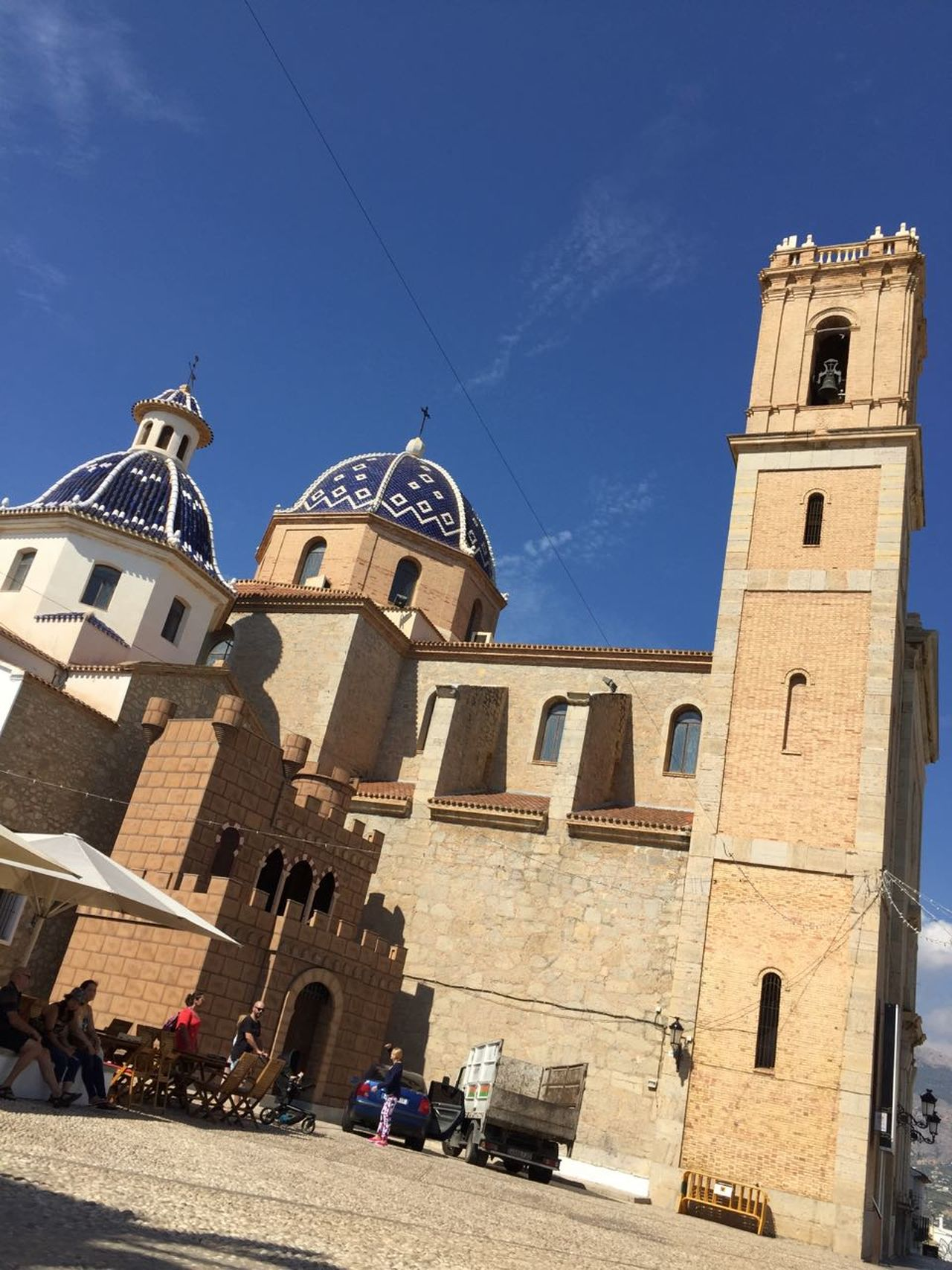 City Architecture Tourism Lookingup Sky Place Of Interest 💒🙋💒🌞 No Edit/no Filter Low Angle View Travel Charch Vacations History Place Altea, Spain 💒💎🏡🚶🌞🙋