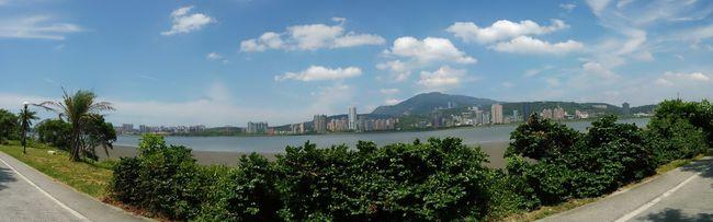 淡水河景 Taipei