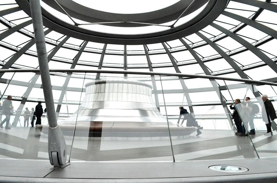 Architecture Modern Indoors  Travel Blurred Motion Built Structure Commuter Business Travel Tourism Walking Airport People Businessman Passenger Rush Hour Business Men Travel Destinations Transportation Station The Secret Spaces Indoors  Berlin Reichstag Art Is Everywhere The Secret Spaces