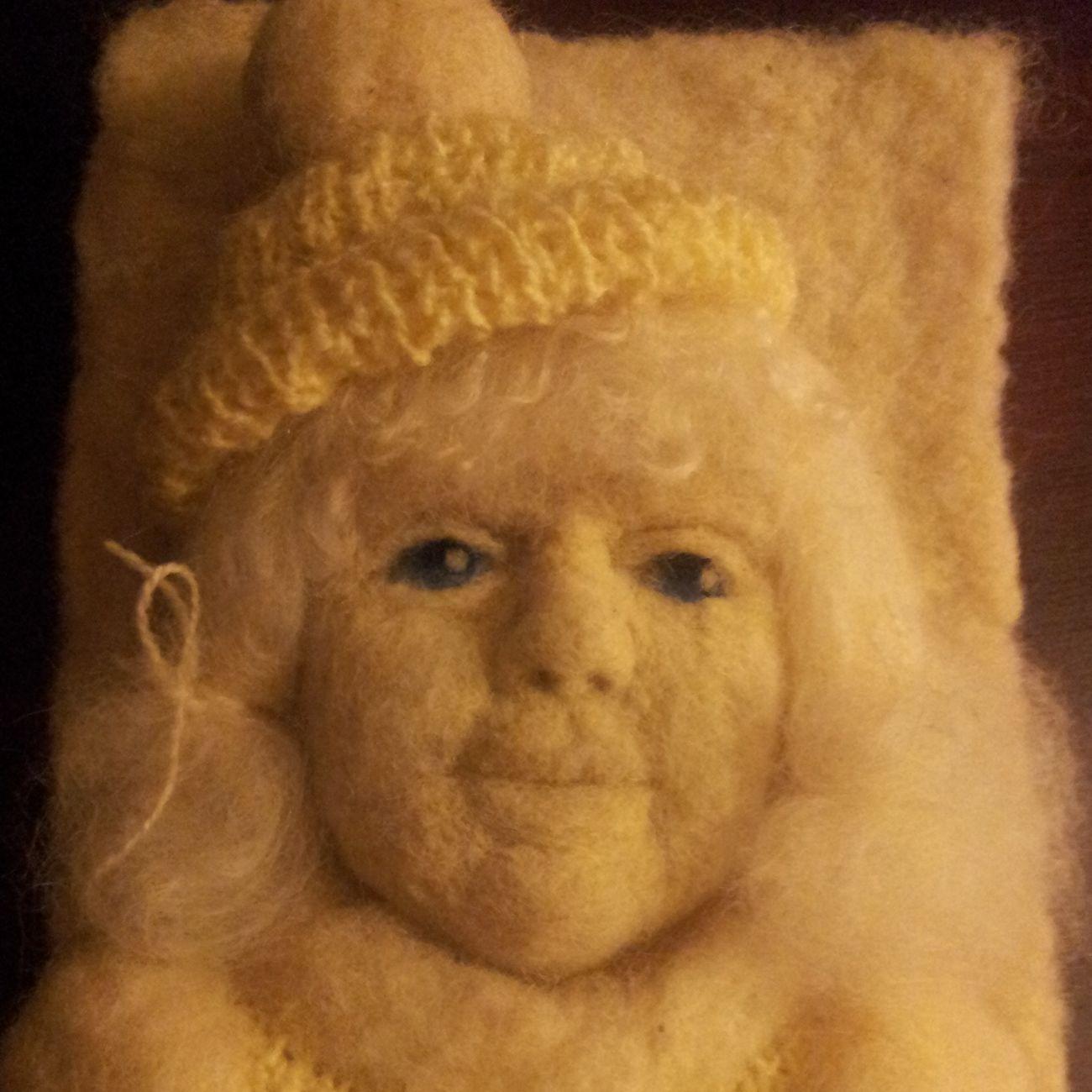 New winter girl.... Handmade By Me Artdolls Portrait Hello World