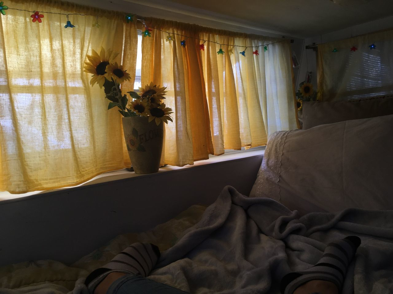 curtain, indoors, sofa, home interior, drapes, window, no people, textile, day, living room