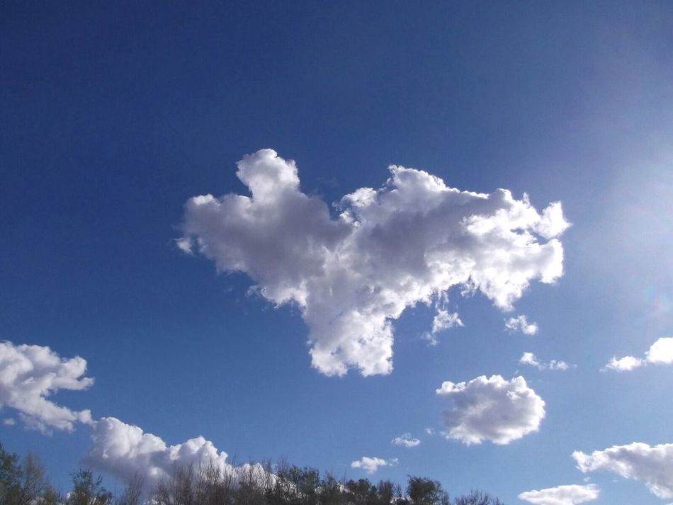 Beautiful stock photos of heaven, Beauty In Nature, Blue, Cloud Formation, Copy Space