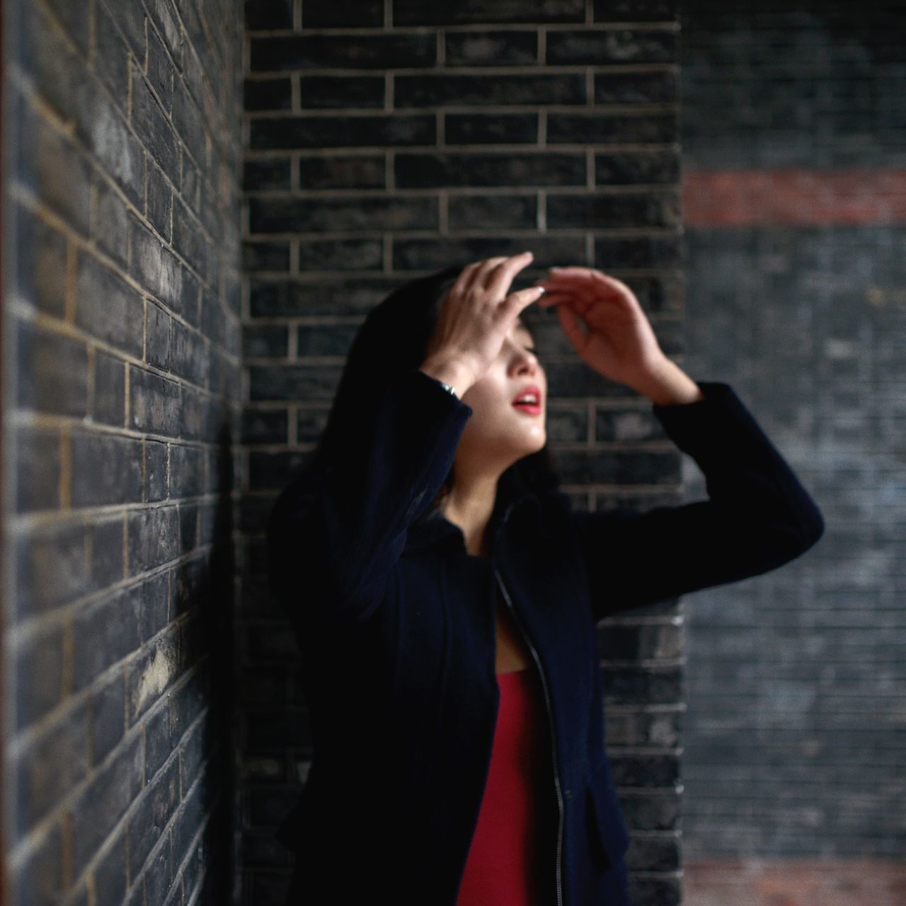 Beautiful stock photos of schmetterling, brick wall, one person, young adult, people