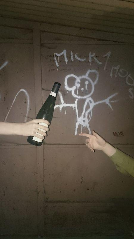 Hanging Out Party Wine Red Wine Hands Michelangelo Friends Cool Bus Stop Streerart Graffiti Artsy ArtsyFartsy Drunk Nights Night Good Lighting