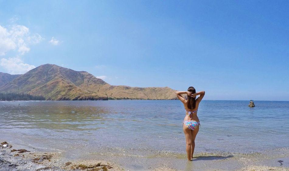 Beautiful stock photos of bikini, 30-34 Years, Beach, Beauty In Nature, Bikini