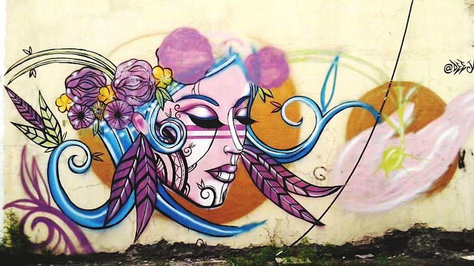 5MP Alcatel One Touch 5021E Mobile Photography Grafitti Intramuros Biking By… Artistic Wall Art