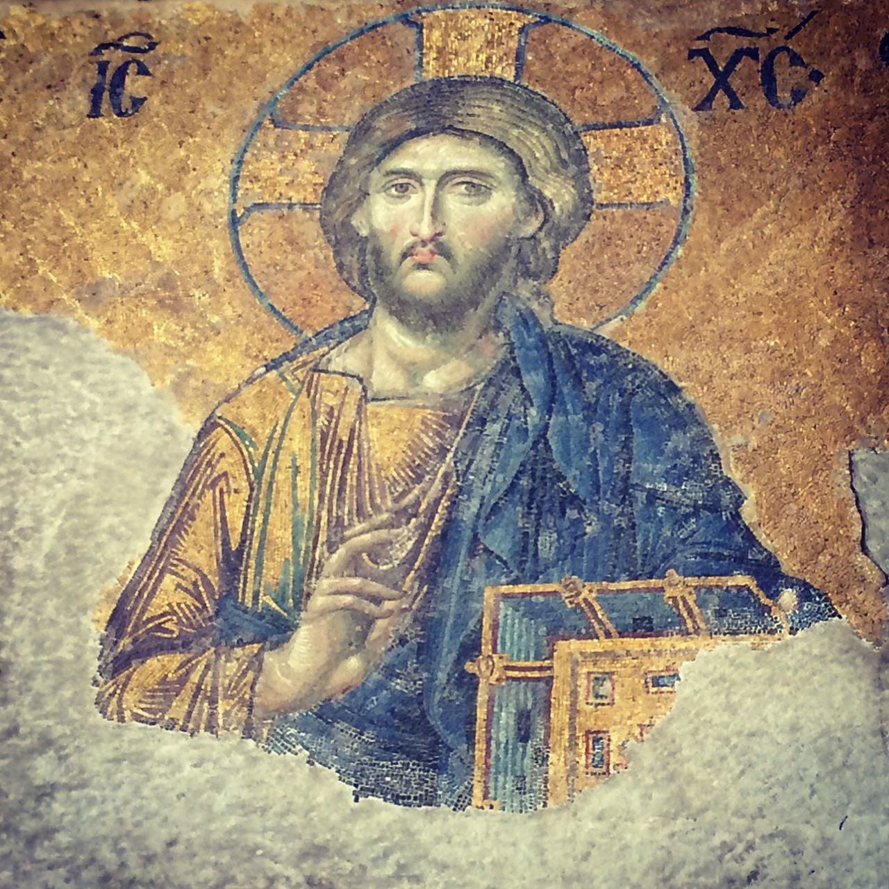Jesus Mosaic Istanbul Museum Art Check This Out