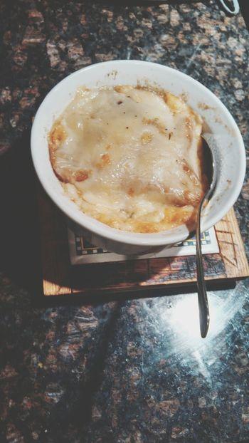 Homemade french onion soup! Yum Homemade Foodporn Imsogood