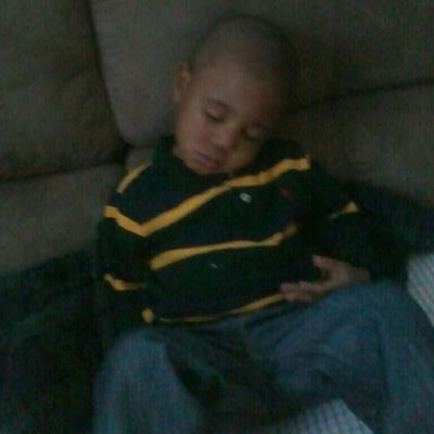 gammie stinks knocked out. lol