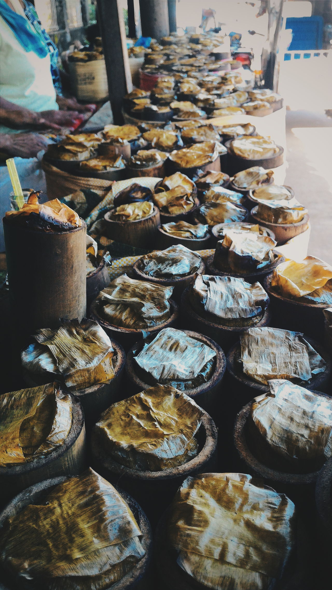 Authentic delicacy: Binungey EyeEm Gallery Eyeem Philippines EyeEmBestPics My Favorite Place Taking Photos Adventurer Adventure Eye4photography  Eye4photography  EyeEm Best Shots OpenEdit Patterns & Textures Food Collection Repetition Arrangement In A Row Ricecake