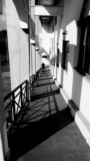 Throwing lights and Falling shadows Architecture The Way Forward Built Structure Travel Destinations Day Outdoors Shadows Shadows & Lights Shades Black And White Photography Blackandwhite Black & White