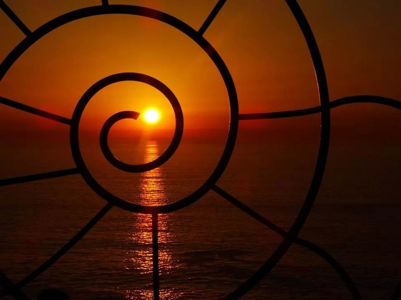 sunset, orange color, water, no people, sea, indoors, close-up, nature, beauty in nature, sky