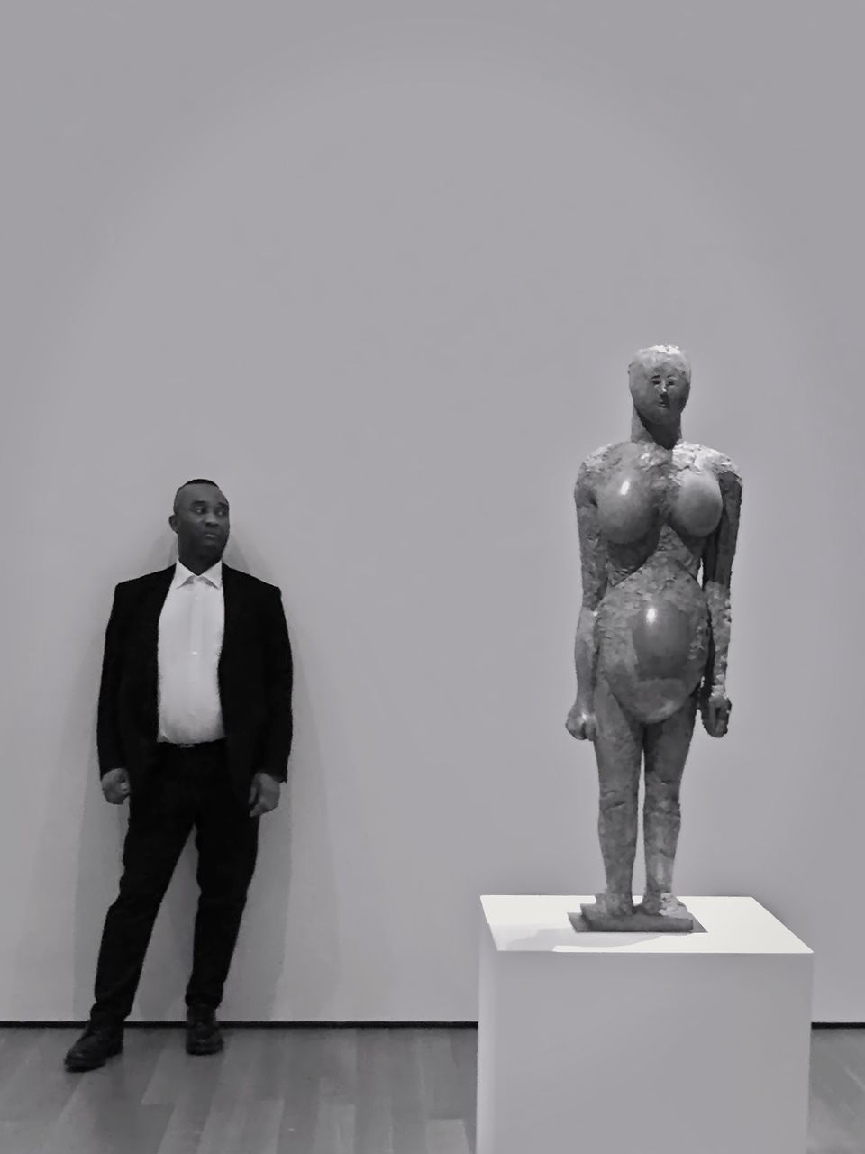 human representation, statue, studio shot, full length, sculpture, indoors, no people, day